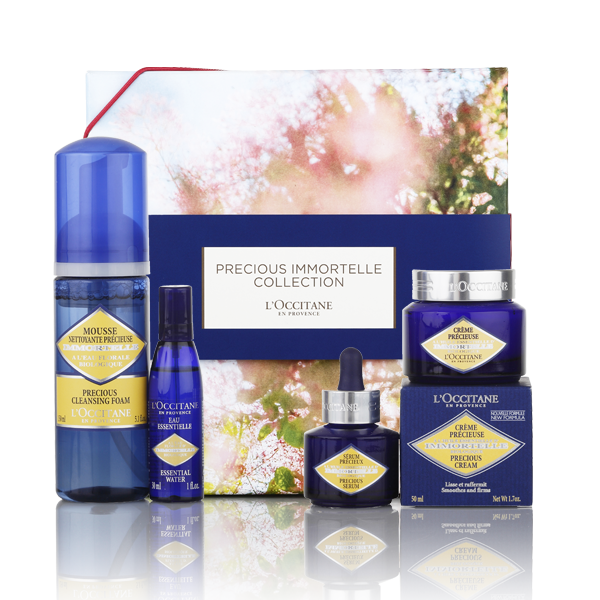 پکیج  Loccitane Immortelle Precious Package