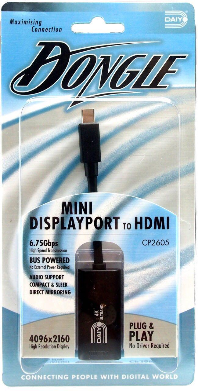 تبديل Mini Display Port به HDMI دايو مدل CP2605